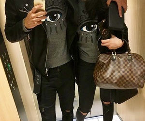 couple, Louis Vuitton, and lové image