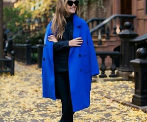 blue, cool, and coat image