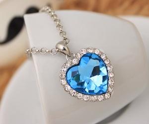 blue, diamond, and luxury image