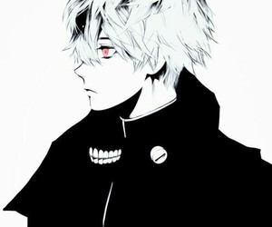 anime, ghoul, and anime boy image