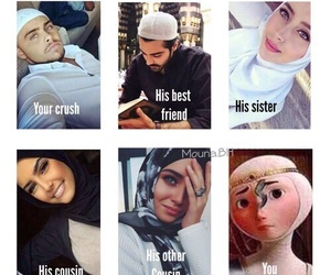 funny, hijab, and muslim image