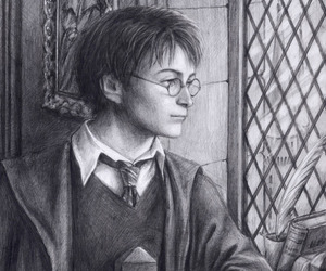 artwork, harry potter, and the quiet hero image