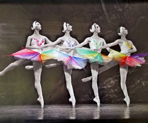 ballet, art, and ballerina image