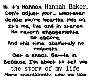13 reasons why and hannah backer image