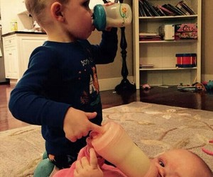 babies, baby, and funny image