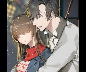 christmas special, mystic messenger, and jumin han image