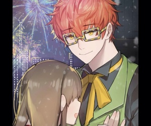 707, christmas special, and mystic messenger image