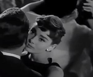 1954, audrey hepburn, and sabrina image