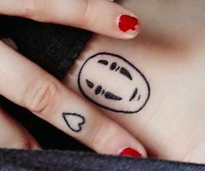 sans visage tattoo image