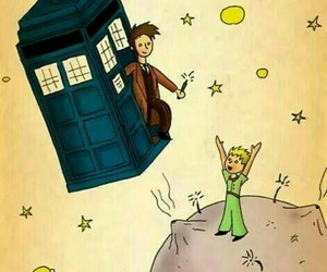 doctor who, little prince, and tardis image