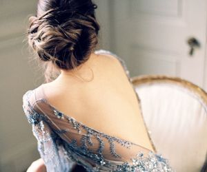 back, dress, and glamour image