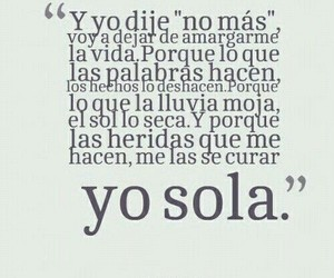 frases, sola, and yo image