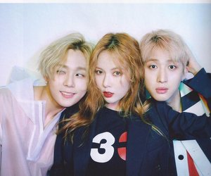 hyuna, triple h, and hui image