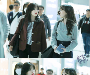 airport, red velvet, and wendy image