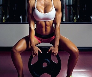 abs, adidas, and beauty image