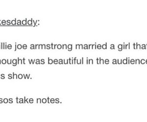 billie joe armstrong, funny, and green day image