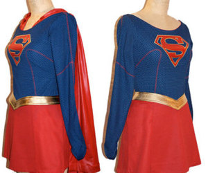 etsy, womens costume, and super woman costume image