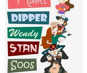 gravity falls, stan, and wendy image