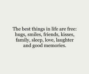 hugs, life, and quote image