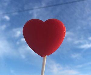 heart, aesthetic, and lollipop image