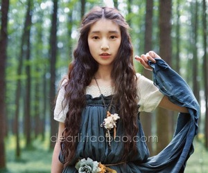 autumn, japanese girl, and mori image