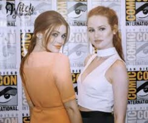 holland roden and madelaine petsch image