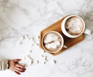 baby, coffee, and photography image