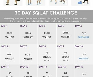 squat, butt, and challenge image