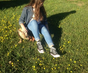 aesthetic, converse, and girl image