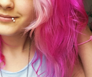 alternative, dyed hair, and Piercings image