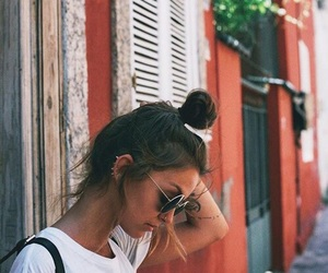 girl, tumblr, and hair image