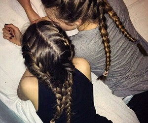 hair, friends, and tumblr image