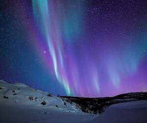 beautiful, mountains, and night image
