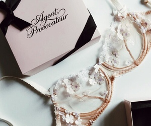 lingerie, agent provocateur, and bra image