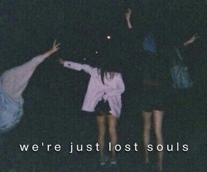 soul, grunge, and lost image