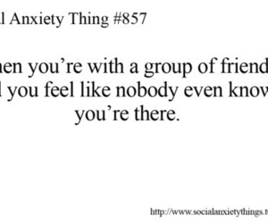 social anxiety, friends, and anxiety image