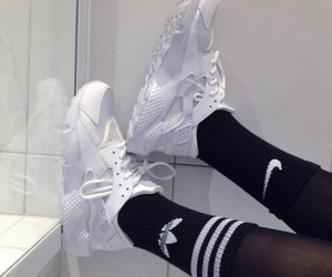 adidas, nike, and shoes image