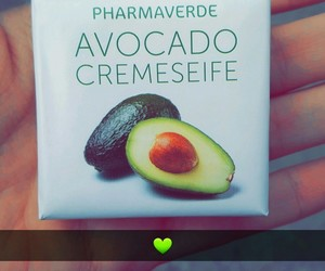 avocado, green, and love image