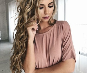 hair, style, and makeup image