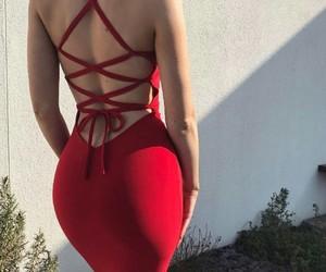 booty, dress, and fashion image