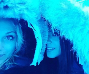 marie avgeropoulos, the 100, and eliza taylor image