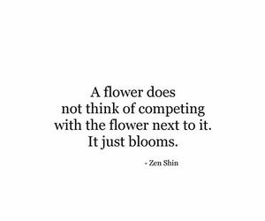 flower, life, and quote image