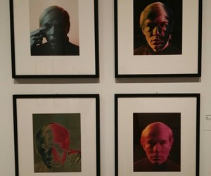 andy warhol, colours, and exposition image