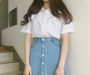 kstyle, cute, and korean image