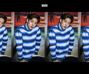 mark, got7, and kpop image