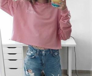 clothes, girl, and moda image