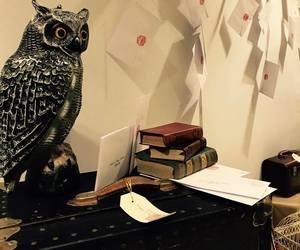 books, decor, and diy image
