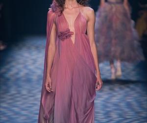 fashion, Marchesa, and runway image
