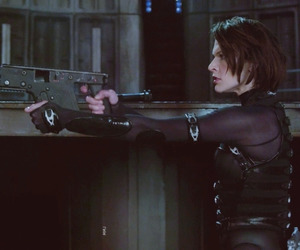 Milla Jovovich, movie, and resident evil image