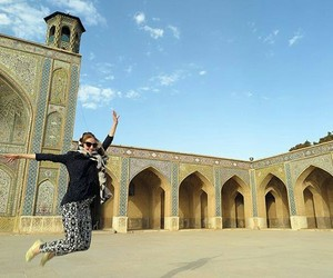 iran, tourism, and mosque image